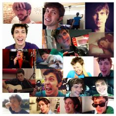Toby Turner. He's so good looking. No matter what goofy face he makes.