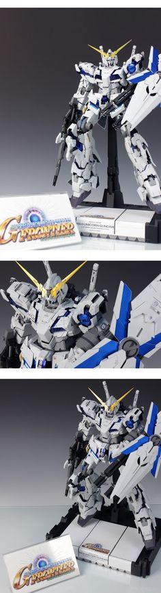 "MODELER: redbrick / nrx1124  MODEL TITLE: Unicorn Gundam ""SD Gundam G Frontier Style""  MODIFICATION TYPE: scratch built parts, custom deta..."