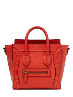 Blood Orange Nano Luggage from Buyers' Picks: Vintage Handbags Feat. Chanel on Gilt