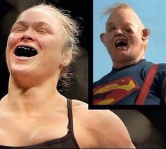 The Official Rousey vs Holm Drinking Game : funny