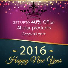 This #NewYear may we continue to share the genuine fellowship that adds #Happiness and #Warmth to even the most ordinary days Goswhit offers trendy Jeans & Shirts at amazing prices. Enjoy #Unbelievable cash discounts of up-to 40% on all our products! #Goswhit wishes you a #HappyNewYear.