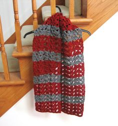 Crochet Pattern of the Day: Butterfly Wings Scarf - Stitch and Unwind