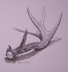 Gambar Modifikasi Seni Rupa 2 Dimensi Contoh Karya Seni Rupa 2 Dimensi Hasil Modifikasi Deer Drawing