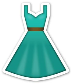 Dress | EmojiStickers.com