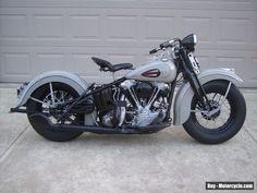 1940 Harley-Davidson knucklehead #harleydavidson #knucklehead #forsale #unitedstates