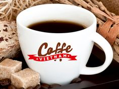 Coffe Vietnam - логотип для сайта