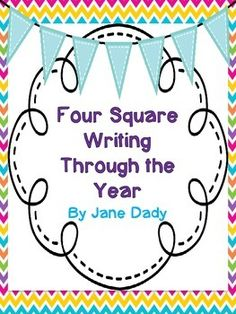 Four Square Writing Through the YearDo you love to use four square writing in your classroom?  If you do then this product is perfect for you.This pack is made up of different themed Four Square writings for every season and holidays throughout the year.
