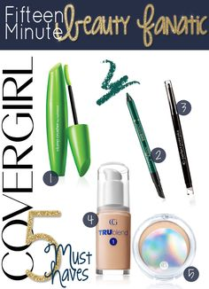 5 Must Have Products: My Favorite CoverGirl Products - 15 Minute Beauty Fanatic Best Beauty Tips, Beauty Make Up, Beauty Secrets, Diy Beauty, Beauty Hacks, Organic Skin Care Lines, Natural Skin Care, Natural Beauty, Can Makeup