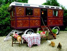 Gypsy caravan, Gypsy wagon, Gypsy waggon & bowtop: for sale Glamping, Camping Cot, Chichester, Motorhome, Gypsy Trailer, Garden Wagon, Gypsy Home, Gypsy Living, Bohemian Living