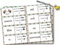 des jeux en conjugaison - ALIASLILI dominos présent des verbes être et avoir Teacher Hacks, Dominos, Cycle 2, Classroom, Teaching, School, Plateau, Maths, Theatre