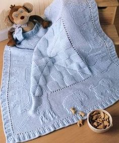 Colchas tejidas a crochet para bebé (1)