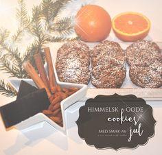 Himmelske gode cookies har jeg laget før, men nå har jeg laget dem med en smak av jul! Jeg har fulgt oppskriften som vanlig, men erstattet vaniljesukkeret med malt kanel og ingefær. Jeg tilførte også cest (revet skall uten det hvite) av to økologiske appelsiner og en ss appelsinjuice. De er så gode og det...Continue