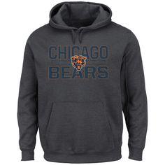 Chicago Bears Majestic Big & Tall Kick Return Pullover Hoodie - Charcoal - $48.99