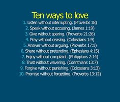 I need to remember this a lot of the times...lovin the right way! Truth.