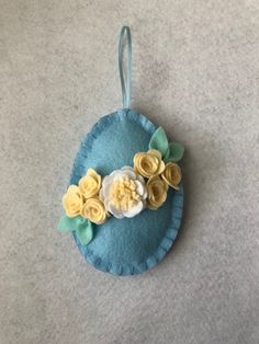 A personal favorite from my Etsy shop https://www.etsy.com/listing/598612421/easter-egg-decor-felt-ready-to-ship