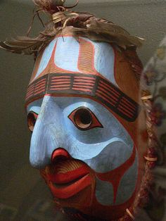 NW US Coast  Nuumal Mask by mharrsch, via Flickr