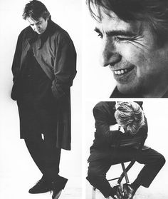 """""""My parents certainly didn't have anything to do with the theatre. I'm some kind of accident."""" Alan Rickman"""