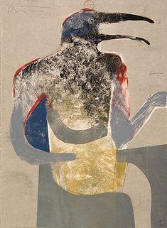 Rick Bartow, Egyptian Raven Pose