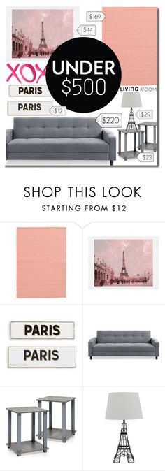 """""""Paris Living Room"""" by daizydarling ❤ liked on Polyvore featuring interior, interiors, interior design, home, home decor, interior decorating, GALA, WALL, Rosanna and Etiquette"""