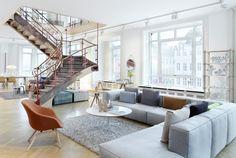 Hay House – Danish Design Store in Copenhagen Danish Interior Design, Danish Design Store, Hay Design, Design Ideas, Modern Shop, Scandinavian Home, Interiores Design, Home And Living, Living Room