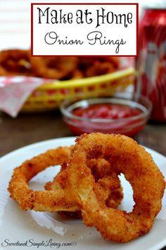 Make at Home Onion Rings