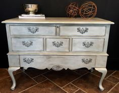 Pearl Plaster Is An Opalescent Topcoat Used Over Chalk Paint® Decorative  Paint By Annie Sloan. Metallic FurniturePaint ...