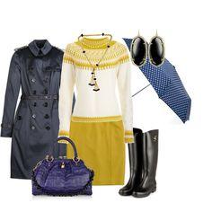 """""""Dïas de Lluvia"""" by outfits-de-moda on Polyvore"""