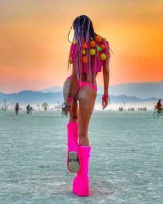#burningman2017 #playa #blackrockcity #burnergirls #burnerfashion #sunset