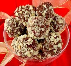 Chocolate-Cherry Cream Balls