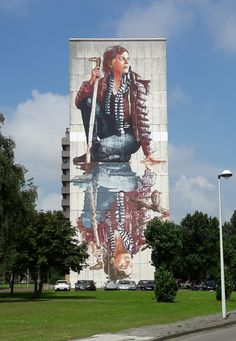 Maak een stedentrip Oostende, stap op de fiets en ga street art spotten. Zo leuk! Bekijk de tips over Oostende.
