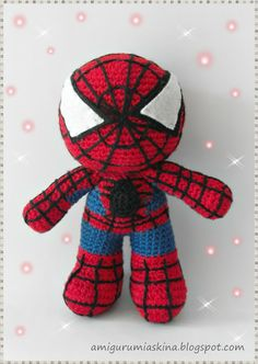 1000+ images about Crochet Super Heroes on Pinterest ...
