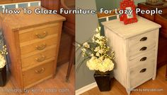 refinished furniture | Refinish Furniture Without Sanding | Interiors by Kenz