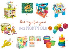Best toys for your 9-12 month old