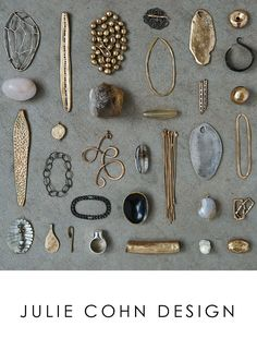 Imagine these are the pieces that make up the head pieces, all the small, elegant pieces