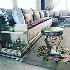 Dream House Interior, Home Interior Design, Interior Decorating, Pooja Room Design, Room Door Design, Moroccan Interiors, Moroccan Decor, Pooja Rooms, Luxury Sofa