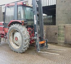 Tractor mounted clearview #forklift mast video pallet #forks #loader firewood log,  View more on the LINK: http://www.zeppy.io/product/gb/2/371508721542/