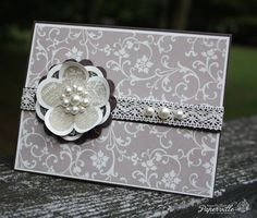 Elegant Posy Punch by Lauriloo - Cards and Paper Crafts at Splitcoaststampers