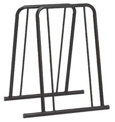 Outback Mini Mite 4-Bike Parking Rack by Outback. $59.99. Fits most bike styles. Parks up to 4 bikes. Durable Powder-Coat Finish. Space efficient, compact design. No assembly required. Parks 4 bikes, keep garage organized, steel construction, pre-assembled