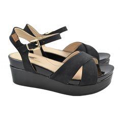 Sandalias plataforma tiras cruzadas MUSTANG | Zapatos Online | Calzado Mujer
