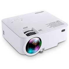 """Best deal on DBPOWER T20 1500 Lumens LED Video Projector w Free HDMI, LCD Mini Projector Multimedia Home Theater Projector 150"""" Support 1080P HDMI VGA AV USB for Home Cinema TV Laptop Game iPhone Smartphone discover this and many other bargains in Crazy by Deals, we bring daily the best discounts for you"""