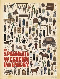 The Spaghetti Western Inventory - New poster by Max Dalton - Illustration Blood Meridian, Westerns, Nostalgia Art, The Lone Ranger, Pretty Drawings, Cowboy Art, Cowboy Boots, New Poster, Western Art