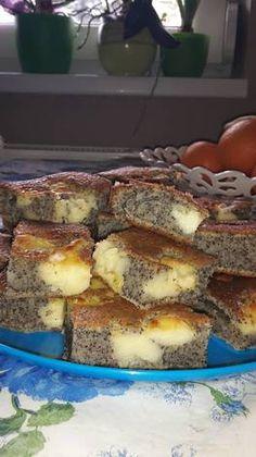 Mákos vanília pudingos bögrés süti Hungarian Desserts, Hungarian Recipes, Sweet Recipes, Cake Recipes, Dessert Recipes, Salty Snacks, Sweet Pastries, Sweet And Salty, Winter Food