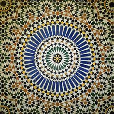 Moroccan mosaics have been around for centuries, their intricate designs delighting all who see them. But there's more to the complex patterns than meets the eye.