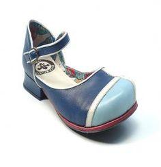 Sapato Feminino Black Boots W 5717 Marinho