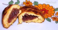 *Tekvicový koláčik s Azuki*  Prvýkrát som ho jedla pred pár týždňami v reštaurácii a zachutil mi tak, že som hneď začala zháňať recept aj suroviny.