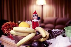 The Elf on the Shelf finds his way onto the naughty list