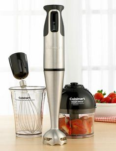 Cuisinart CSB-77 Smart Stick Hand Blender with Whisk and Chopper Attachments - http://juicerreviews.cookingwithian.com/cuisinart-csb-77-smart-stick-hand-blender-with-whisk-and-chopper-attachments/
