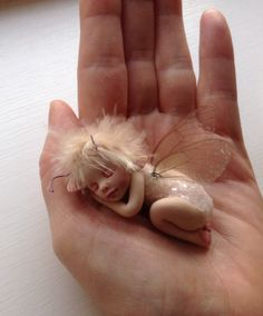 Have you got the Christmas bug..? Ooak fairy bug.