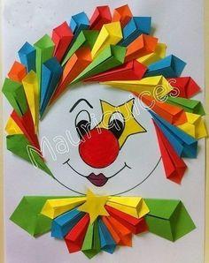 us wp-content uploads 2015 02 free-clown-craft. Kids Crafts, Clown Crafts, Circus Crafts, Preschool Crafts, Diy And Crafts, Arts And Crafts, Paper Crafts, Carnival Crafts, Diy Paper