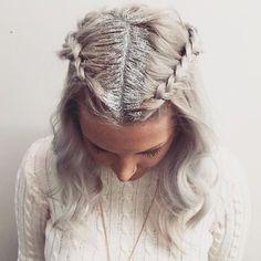 Glitter roots // Patrizia Conde   B   Pinterest